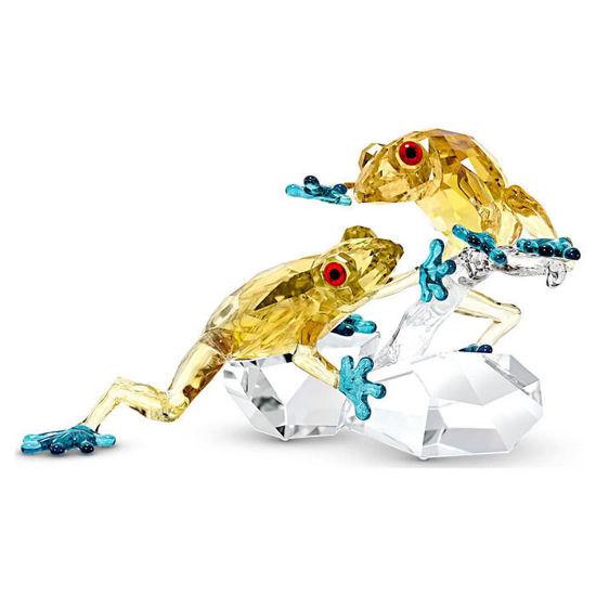 Swarovski figur Crystal Paradise Frogs - 5522680