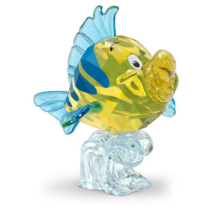 Swarovski figur The Little Mermaid Flounder - 5552917