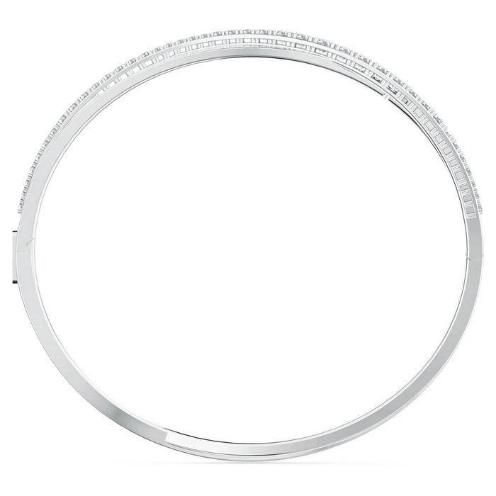 Swarovski armbånd Twist Rows, hvitt - 5572725