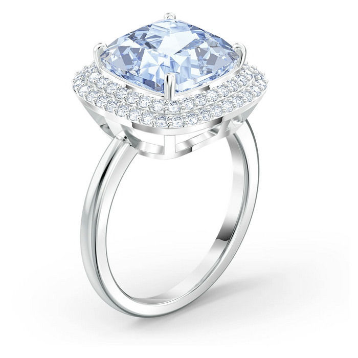 Swarovski ring  Angelic, blå - 5572634