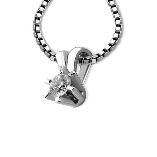Diamantsmykke Sofia i gull med 0,12 ct W-Si-1120712