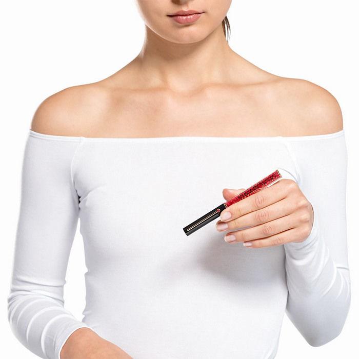 Swarovski pen Crystalline Gloss Ballpoint, svart og rødt - 5568754
