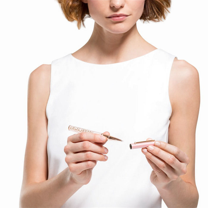 Swarovski pen Crystalline Gloss Ballpoint, rosa - 5568756
