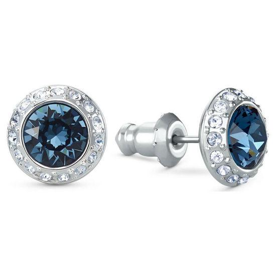 Swarovski øredobber Angelic Stud, blå - 5536770