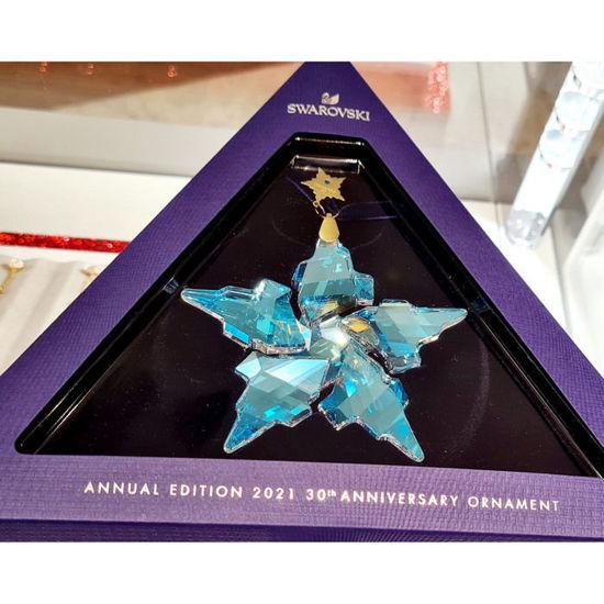 Swarovski figur Annual Edition 2021 30th Anniversary Ornament - 5596079