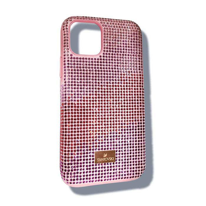 Swarovski Iphone 11 Pro deksel High Love, rosa - 5531151