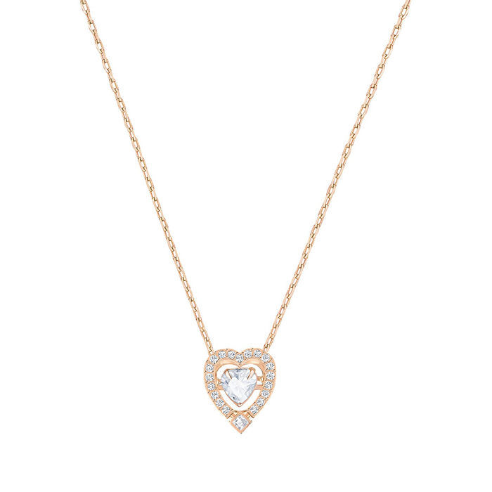 Swarovski smykke Sparkling Dance Heart - 5284188
