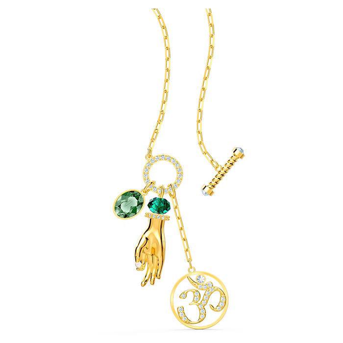 Swarovski smykke Symbolic Hand Om, gult - 5514407