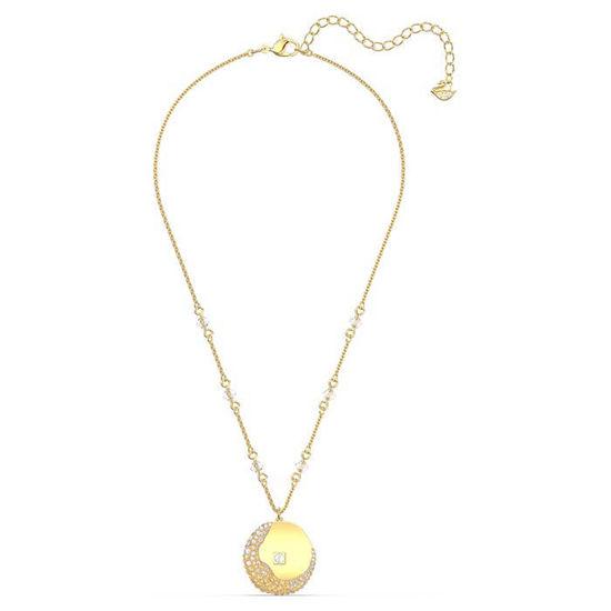 Swarovski smykke The Elements Pendant, med gull krystaller - 5568266
