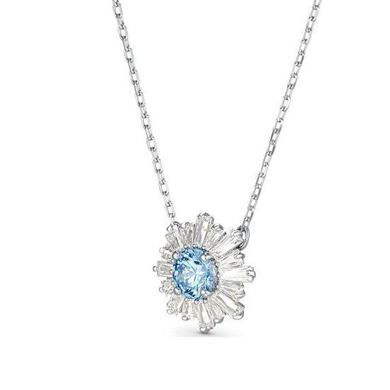 Swarovski smykke Sunshine, blue center - 5536742