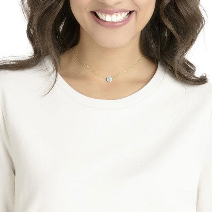 Swarovski smykke Lisabel, hvitt - 5380109
