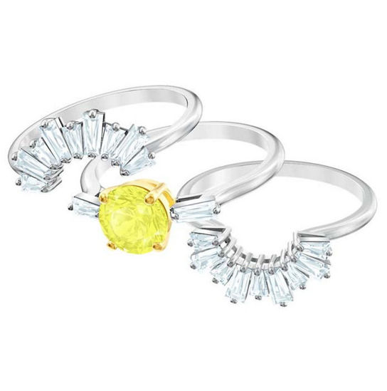 Swarovski ring Sunshine, str 52  - 5482508