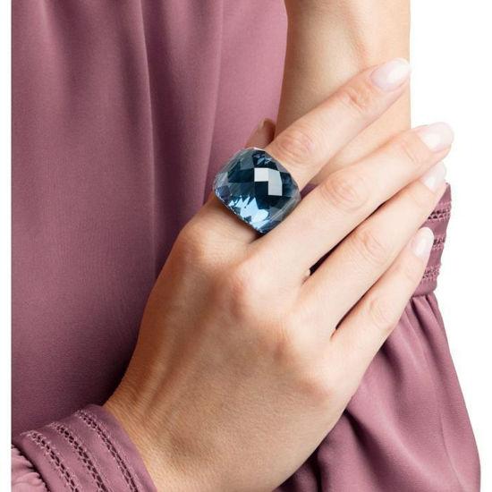 Swarovski ring Nirvana, blue crystal, str 58 - 5474372