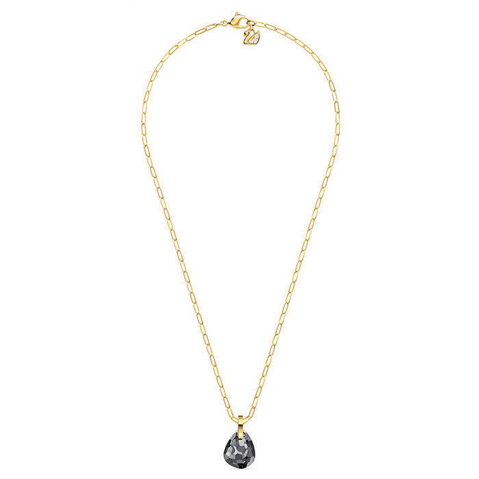 Swarovski smykke T Bar, med grå krystaller - 5558340