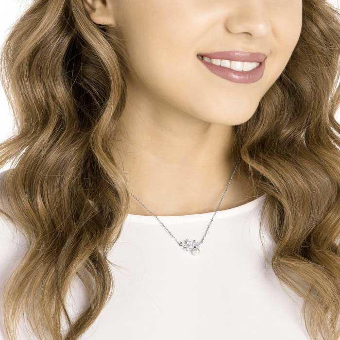 Swarovski smykke. Louison Pearl - 5422685
