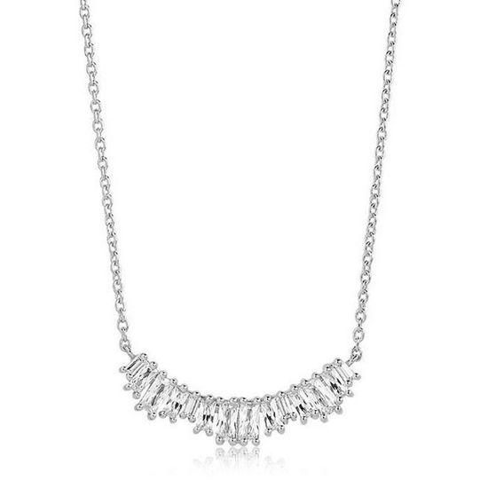 Smykke Antella sølv, 42 cm - SJC1077CZ