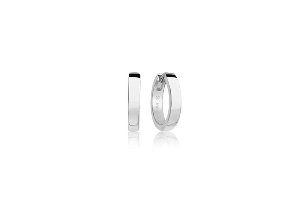 Sølv øredobber Ellera Pianura Piccolo - SJE12018SS