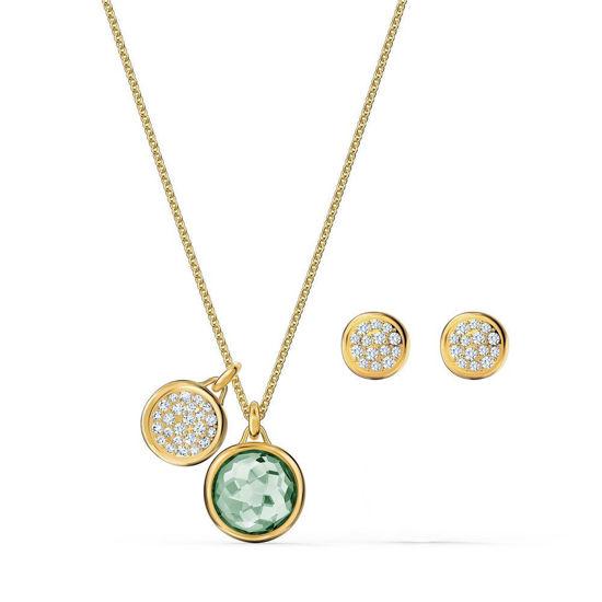 Swarovski smykkesett Tahlia, grønn - 5579789