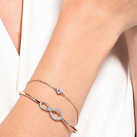 Swarovski armband Infinity Chain Crystal, rose - 5518871