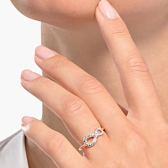 Swarovski ring Infinity, rose - 5535400
