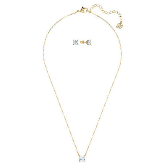 Swarovski smykkesett Attract Set Sq New - 5510683
