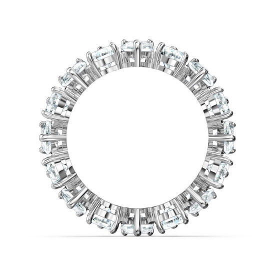 Swarovski ring Vittore Pear, hvitt - 5572824