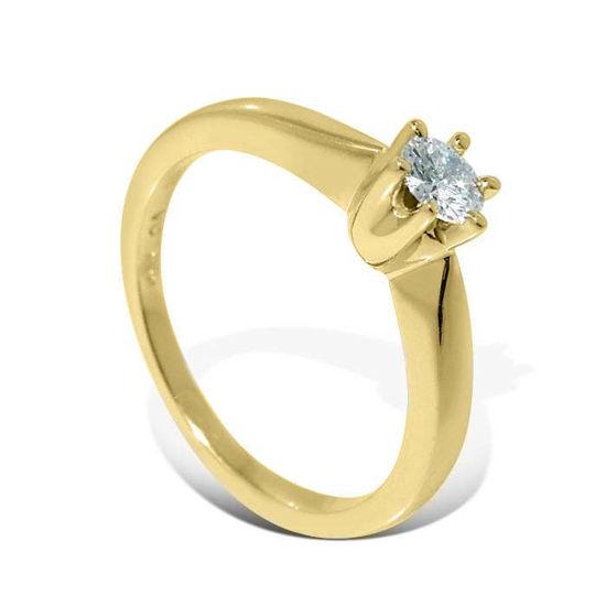 Diamantring forlovelsesring Ida 0,20 ct W-PI - COC0098600