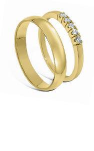 Bilde for kategori Forlovelsesring & giftering