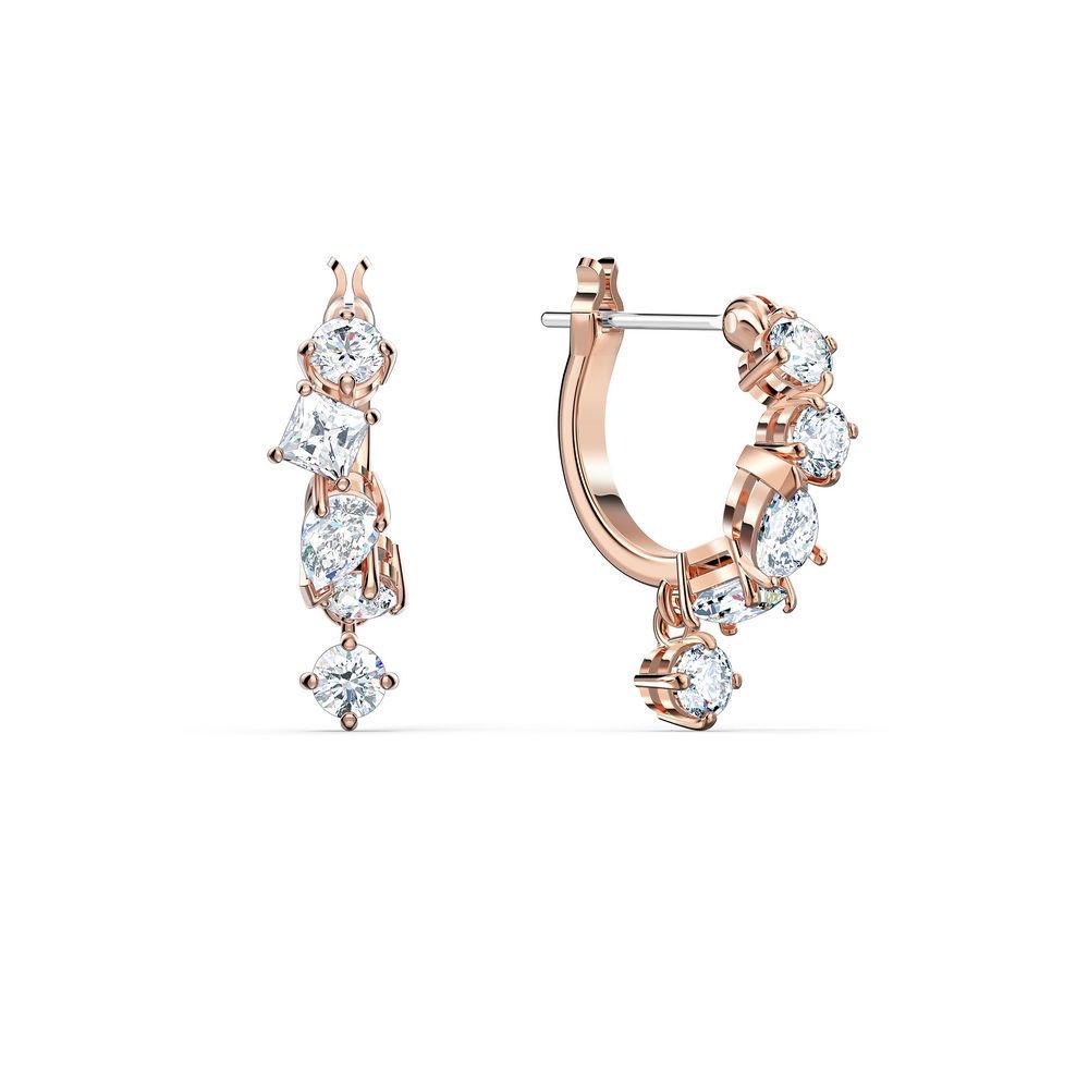 Swarovski øredobber Attract chains - 5563118