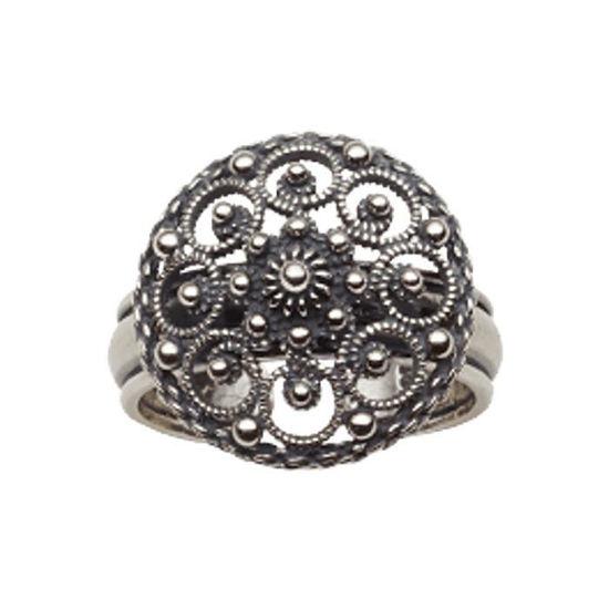Ring, oksidert. Graffer - 345100