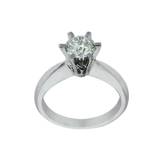 Diamantring - frierring Athene 0,40 ct  (E)-Si1 med GIA-50366140