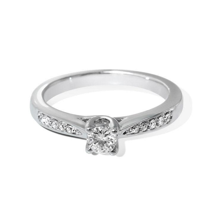 Diamantring forlovelsesring Azur 0,23 ct W-Si - ABR00874-1 -23