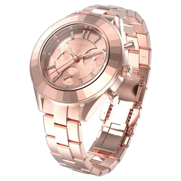 Swarovski klokke Octea Lux Sport watch Metal bracelet, Rose gold tone - 5610469
