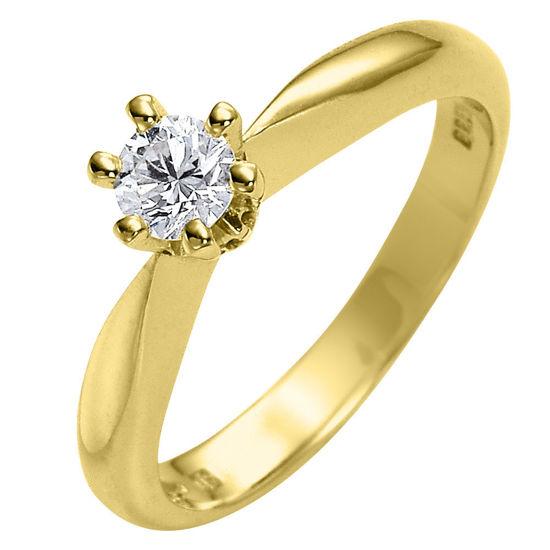 Diamantring forlovelsesring Athene 0,35 ct River Si - 50326035