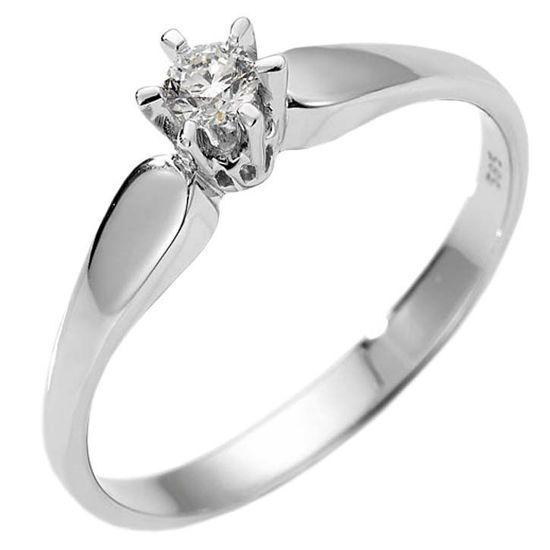 Diamantring forlovelsesring Sofia 0,21ct W/SI -120721