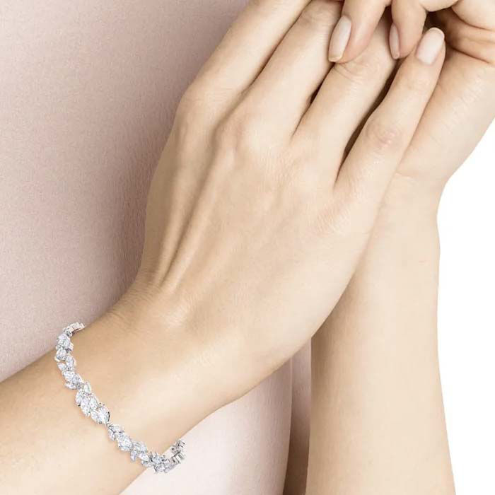 Swarovski armband Louison, hvit - 5419244