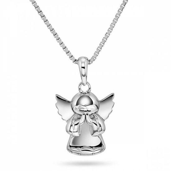Smykke i sølv. Engel - 64055