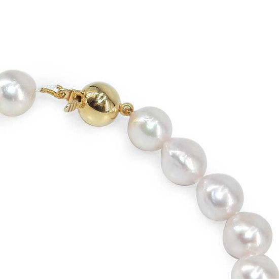 Perlekjede med Akoya perler, 14 kt - 457514
