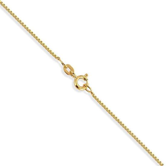 Veneziansk kjede 9kt gult gull 50 cm 0,9 mm - 13G90950