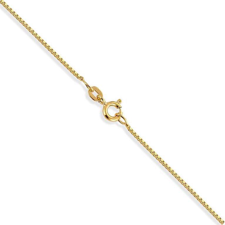 Veneziansk kjede 14kt gult gull 40 cm 0,7 mm - 13GU0740