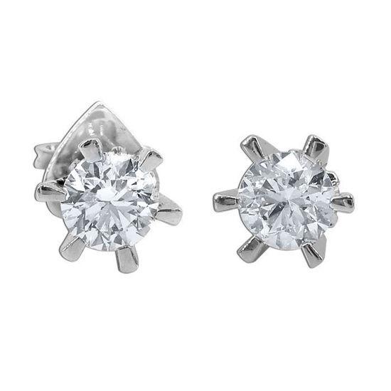 Athene diamant øredobber med 2/0,50 ct TW-Si2-219902050