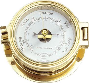 Bilde av Barometer messing, liten