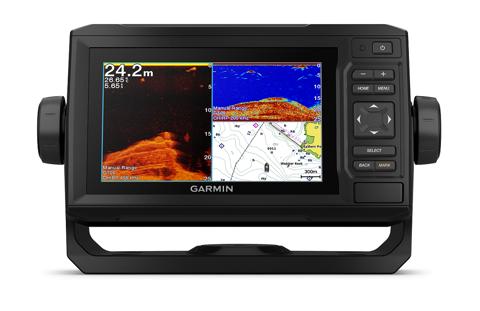 Bilde av ECHOMAP Plus 62cv Med Kart og CHIRP hekksvinger