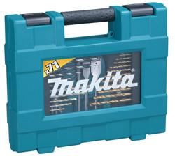 Bilde av Makita bor / bitssett 71 deler i koffert