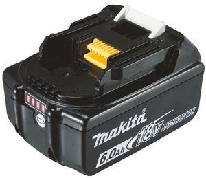 Makita batteri BL1860B 6 amperetimer