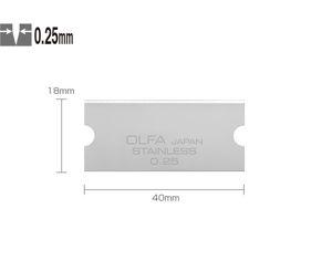 Bilde av Olfa GSB-2S Reserveblad til Olfa glasskrape
