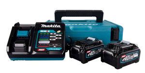 Makita Batterisett med koffert, lader og to batteri