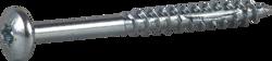 Bilde av Essve Treskrue med panhode, blankforsinket