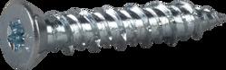 Bilde av Essve betongskrue Senk hode  Blankforsinket TX30