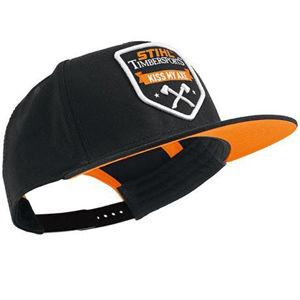 Stihl Timbersports Caps sort og oransje